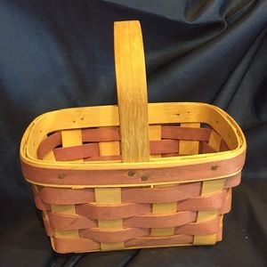 Signed Longaberger Basket